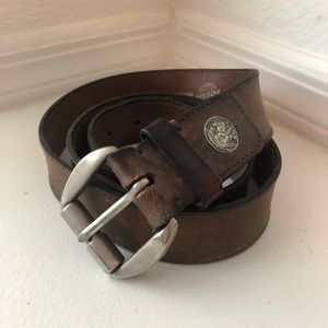 Men's Fossil Genuine Leather Belt